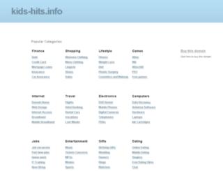 kids-hits.info screenshot