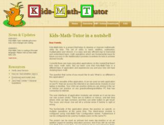 kids-math-tutor.com screenshot