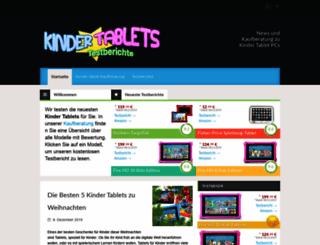 kids-tablets.de screenshot