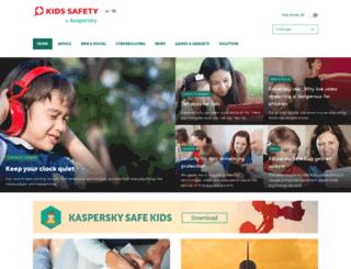 kids.kaspersky.com screenshot