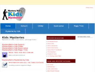 kids.mysterynet.com screenshot