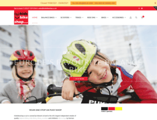 kidsbikeshop.co.uk screenshot
