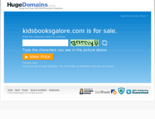 kidsbooksgalore.com screenshot
