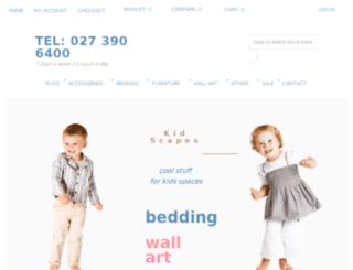 kidscapes.co.nz screenshot