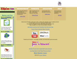 kidscom.com screenshot