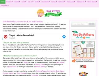 kidscraps.com screenshot