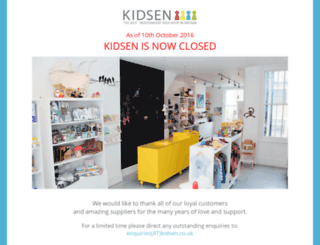 kidsen.co.uk screenshot