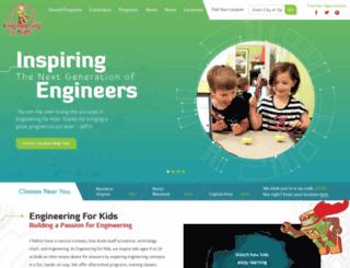 kidsengineering.com screenshot