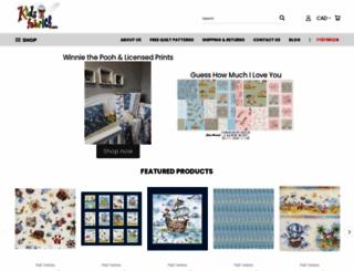 kidsfabrics.com screenshot