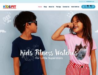 kidsfit.co.uk screenshot