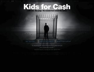 kidsforcashthemovie.com screenshot