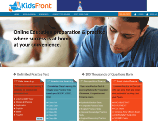kidsfront.com screenshot