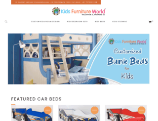 kidsfurnitureworld.in screenshot