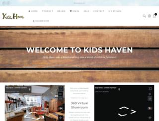 kidshaven.sg screenshot