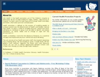 kidshealth.chw.edu.au screenshot