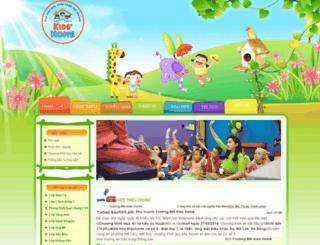 kidshomebh.edu.vn screenshot