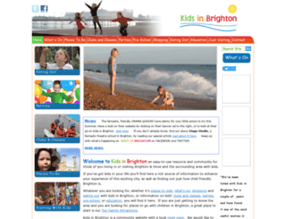 kidsinbrighton.co.uk screenshot