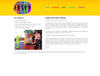 kidslandberkeley.com screenshot