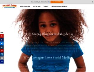 kidslearntoblog.com screenshot
