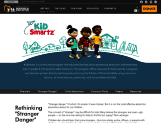kidsmartz.org screenshot