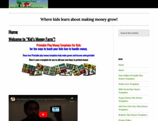 kidsmoneyfarm.com screenshot