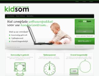 kidsom.nl screenshot