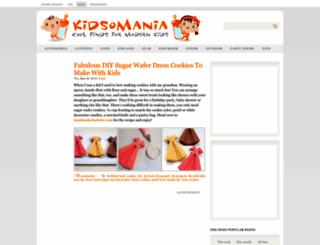 kidsomania.com screenshot