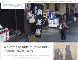 kidsonboard.net screenshot