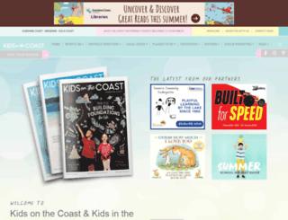 kidsonthecoast.com.au screenshot