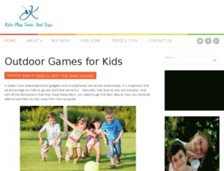 kidsplaytentsandtoys.com screenshot