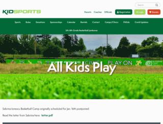 kidsports.org screenshot