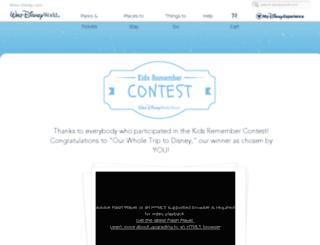 kidsremembercontest.com screenshot