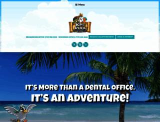 kidsrockdentistry.com screenshot