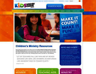kidssundayschool.com screenshot