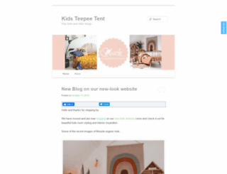 kidsteepeetent.com screenshot
