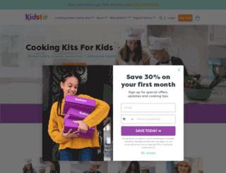 kidstir.com screenshot