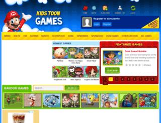 kidstoongames.com screenshot
