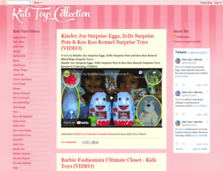 kidstoyscollection.blogspot.com screenshot