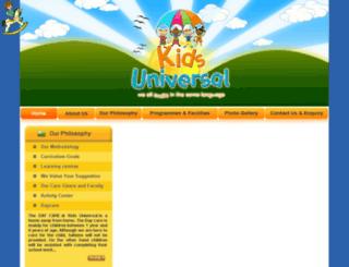 kidsuniversal.net screenshot