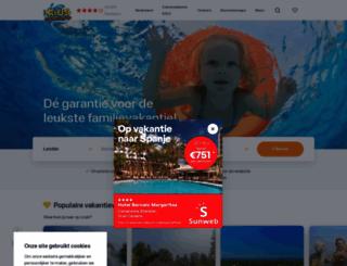 kidsvakantiegids.nl screenshot
