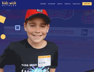 kidswishnetwork.com screenshot