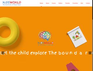 kidsworldindia.in screenshot