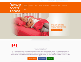 kidszipsheets.co screenshot