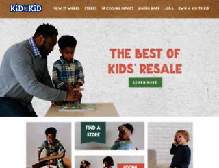 kidtokid.com screenshot