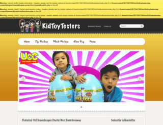 kidtoytesters.com screenshot