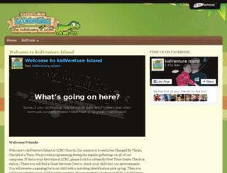 kidventureisland.lcbcchurch.com screenshot