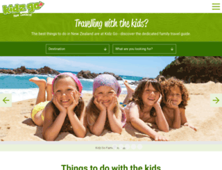 kidzgo.co.nz screenshot