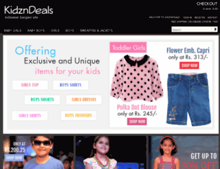 kidzndeals.com screenshot
