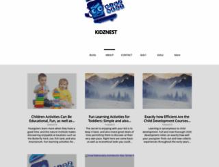 kidznest.sitey.me screenshot