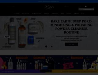 kiehls.co.th screenshot